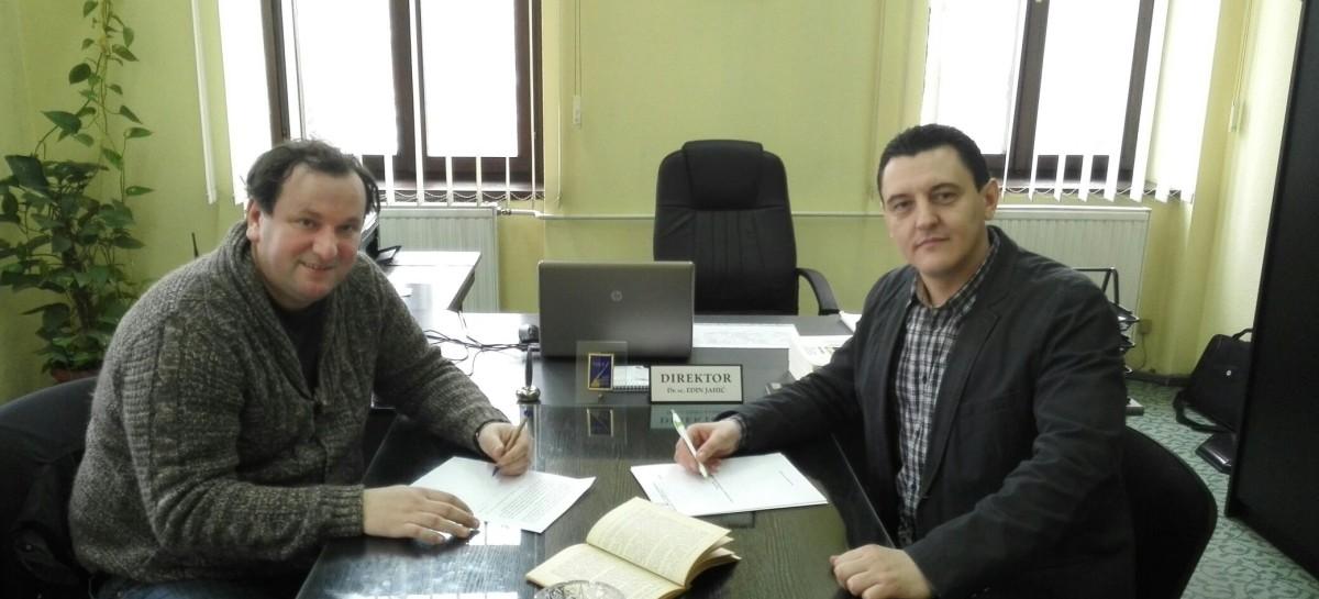 Potpisan protokol o saradnji sa Bibliotekom Derviš Sušić Tuzla
