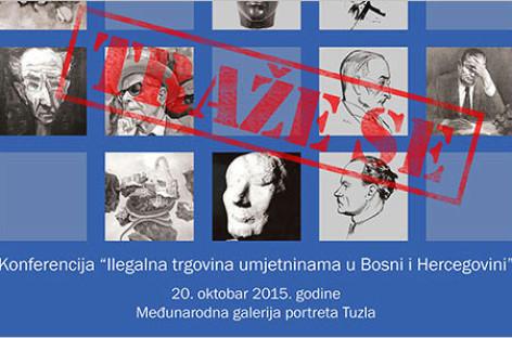 """Najava konferencije """"Ilegalna trgovina umjetninama u Bosni i Hercegovini"""""""