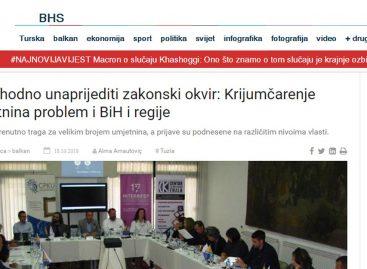 Mediji: Neophodno unaprijediti zakonski okvir: Krijumčarenje umjetnina problem i BiH i regije