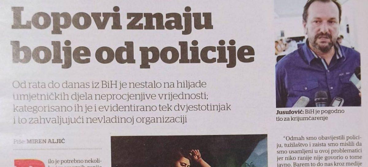 Magazin DANI članak: Lopovi znaju bolje od države