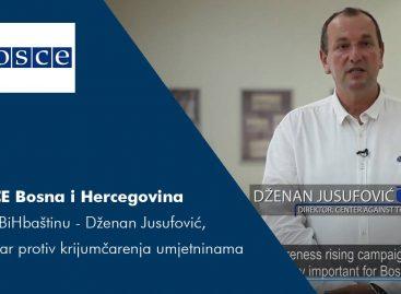 #iJaBiHbaštinu – Dženan Jusufović, Centar protiv krijumčarenja umjetninama