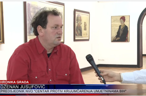 Video prilog RTV 7: Preventivno djelovati u zaštiti umjetničkih djela