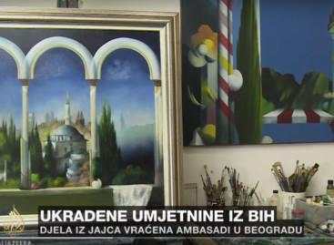 VIDEO Al Jazeera: Iz BiH u ratu ukradene umjetnine vrijedne milione maraka
