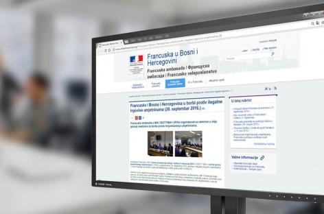 Francuska ambasada u BiH: Francuska i Bosna i Hercegovina u borbi protiv ilegalne trgovine umjetninama (Bos/Fra)